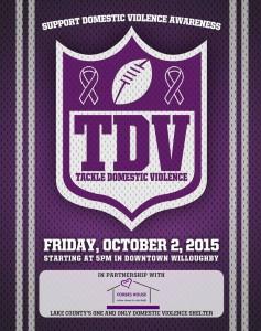 Tackle Domestic Violence - October 2nd