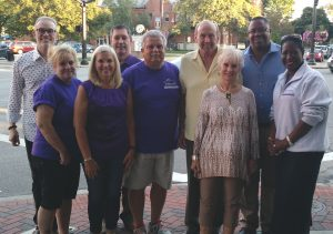 Forbes House Board of Directors and Executive Director at Tackle Domestic Violence event in October 2016