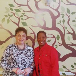 Nancy Hilborn and Wanda Simmons