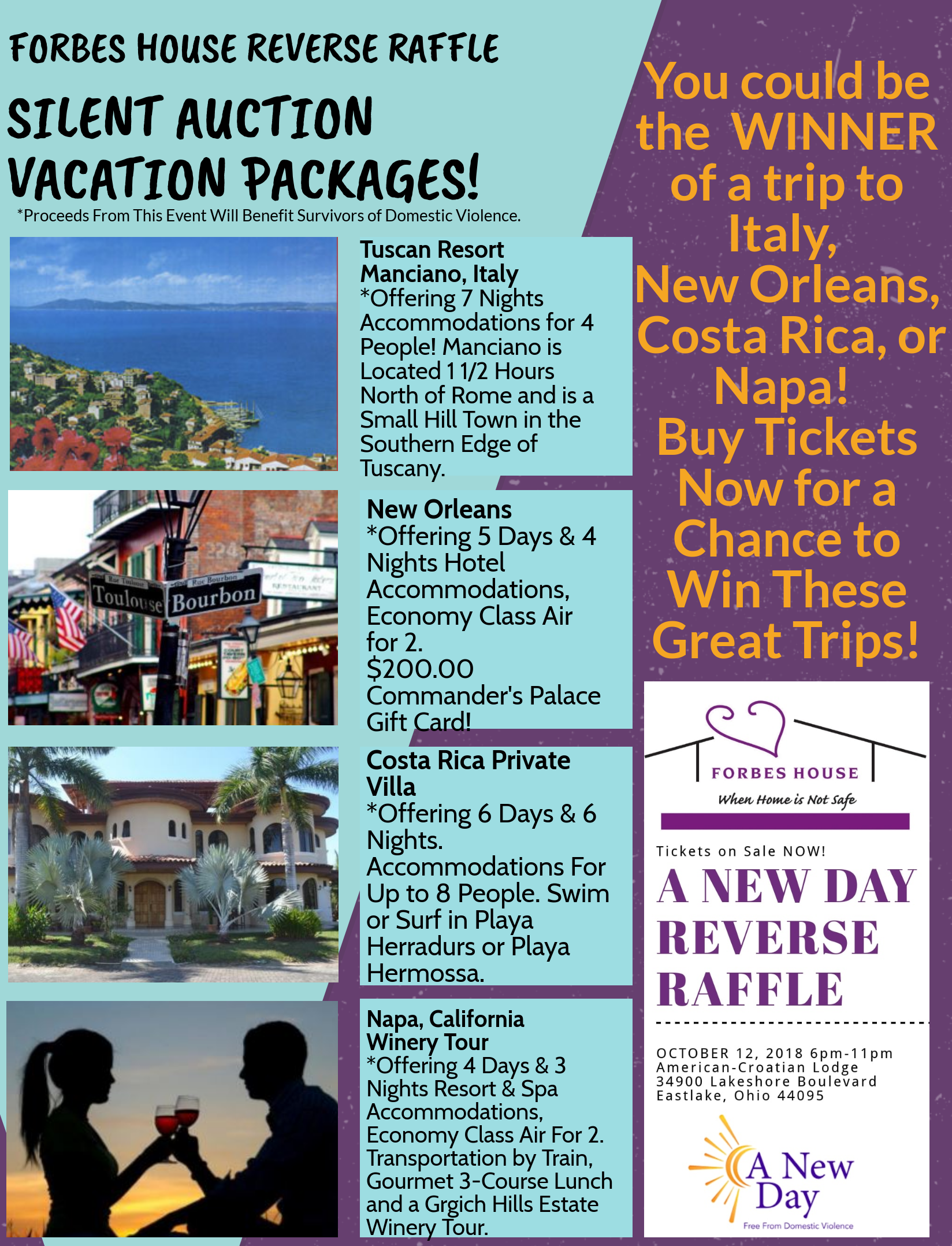 Vacation Packages - Forbes House